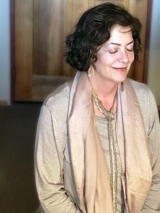 Liza Fiorentinos, Eidetic Mastermind client, during her Private Intensive in Santa Fe, NM.